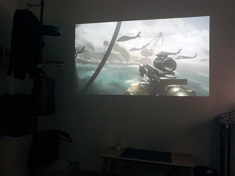 Nebula Capsule Ⅱでゲームを遊ぶ写真