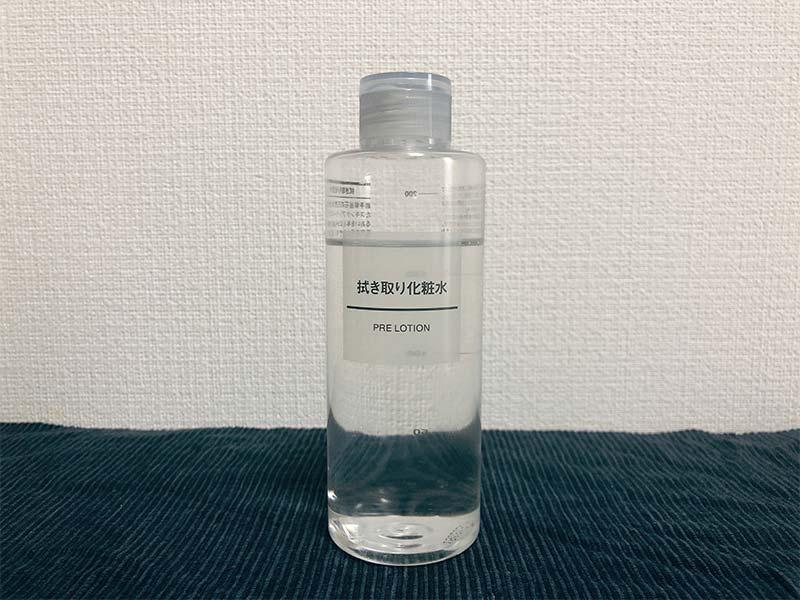 無印良品 拭き取り化粧水の写真