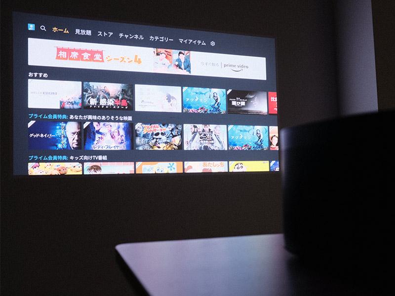 「HORIZON Pro」の投影シーンの写真