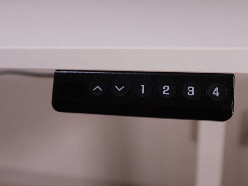 「100-ERD025」の操作ボタンの写真