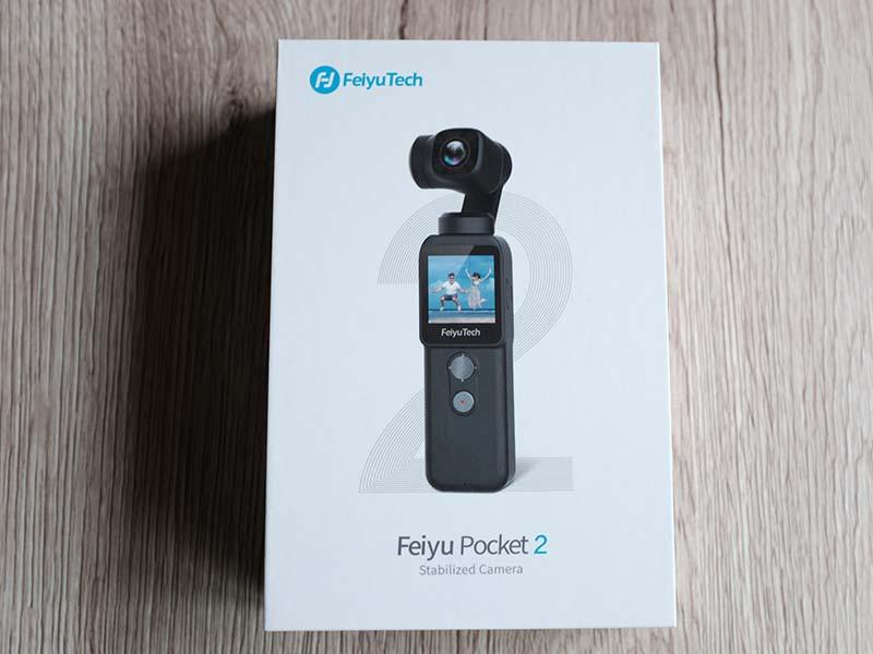Feiyu Pocket 2の箱の写真